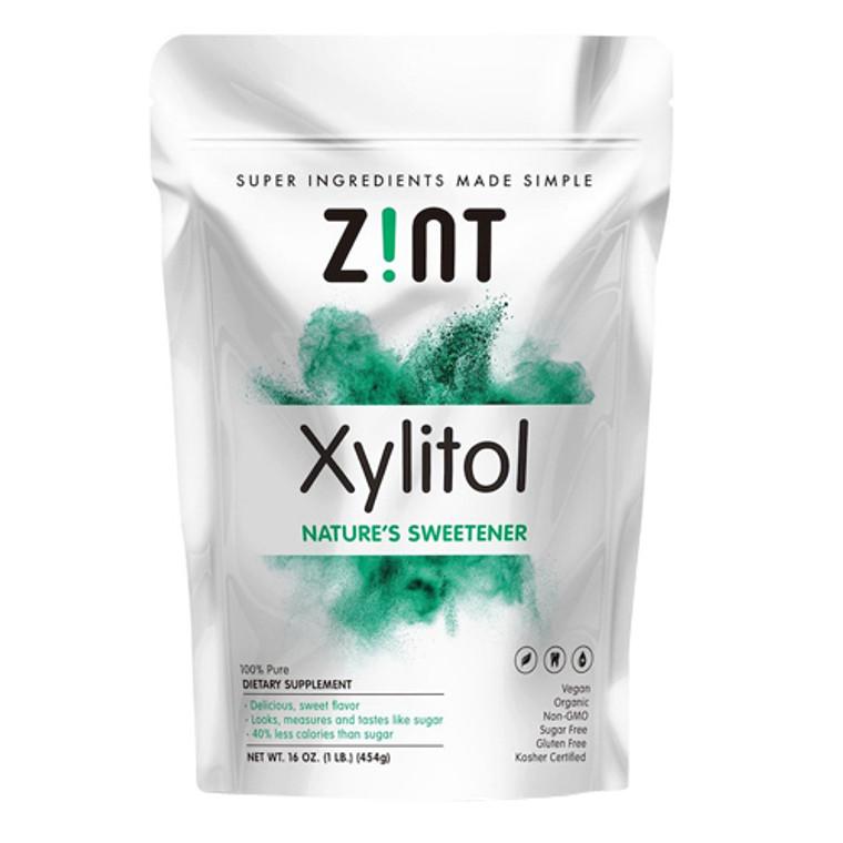 Zint Organic Natures Sweetener Bag Xylitol, 16 Oz