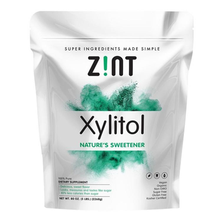 Zint Organic Xylitol Natures Sweetener Bag, 5 Lb