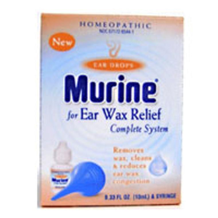 Murine Ear Drops Ear Wax Removal System - 0.5 Fl Oz