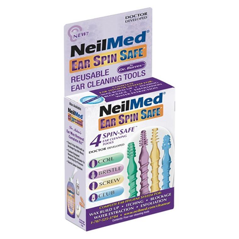 NeilMed Ear Spin Safe, Ear Cleaning Tool - 4 ea
