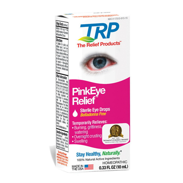 TRP Company Ring Relief Homeopathic Ear Drops, 0.33 Oz