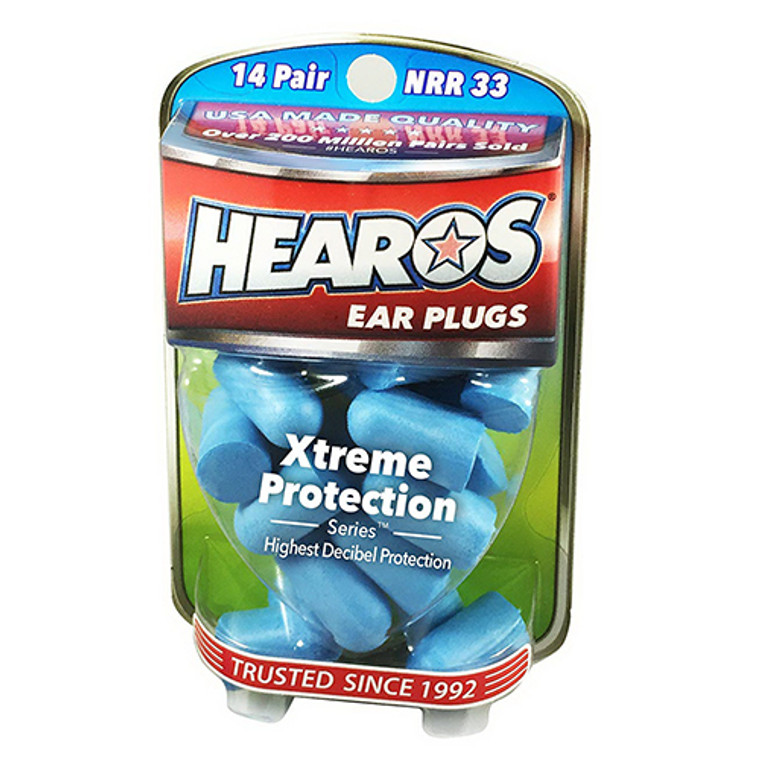 Hearos Xtreme Protection Series Ear Plugs, 14 Pairs