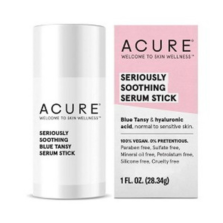 Acure Seriously Soothing Blue Tansy Serum Stick, 1 Oz
