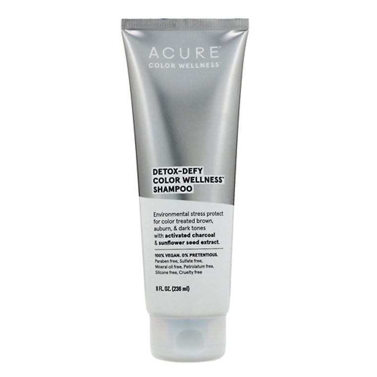 Acure Detox Defy Color Wellness Shampoo, 8 Oz