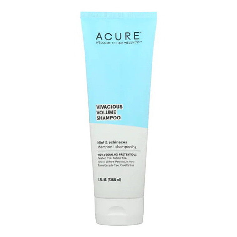 Acure Vivacious Volume Shampoo, 8 Oz