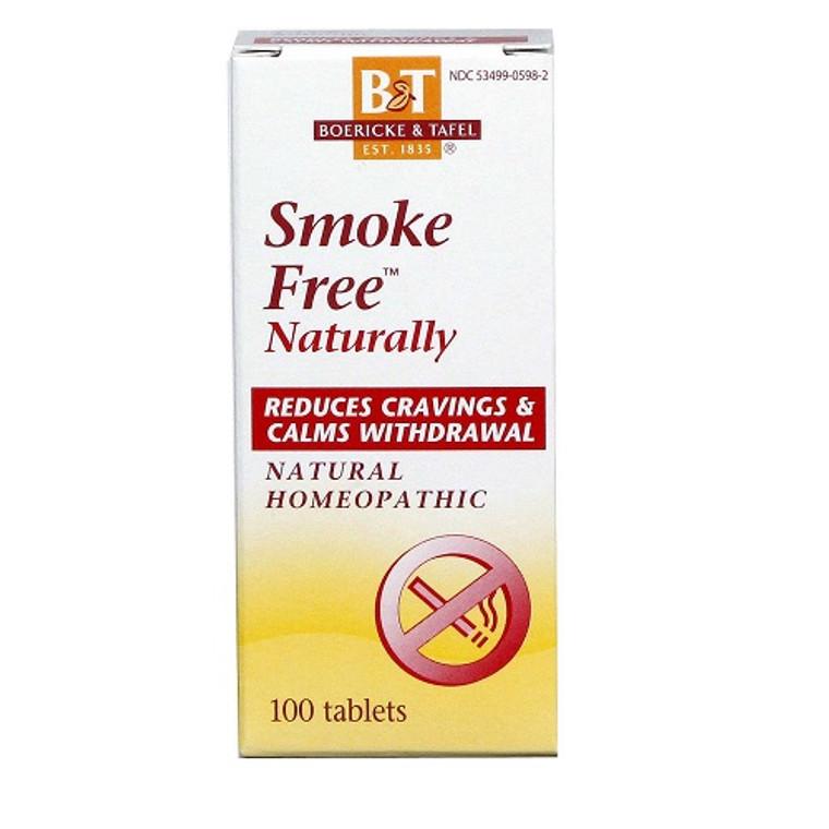 Boericke and Tafel Smoke Free Naturally Homeopathic Remedies Tablets, 100 Ea