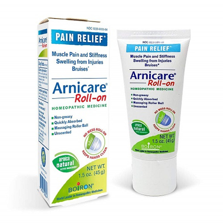 Boiron Arnicare Roll On Pain Relief Homeopathic Medicine, 1.5 Oz