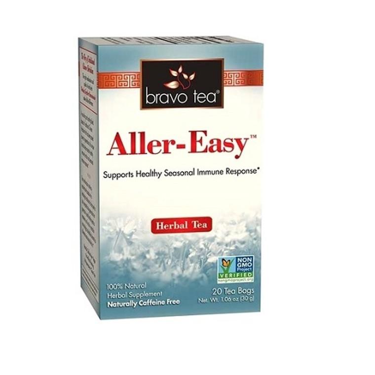 Bravo Tea Aller-Easy Herbal Tea Bags for Healthy Seasonal Immune Response, 20 Ea