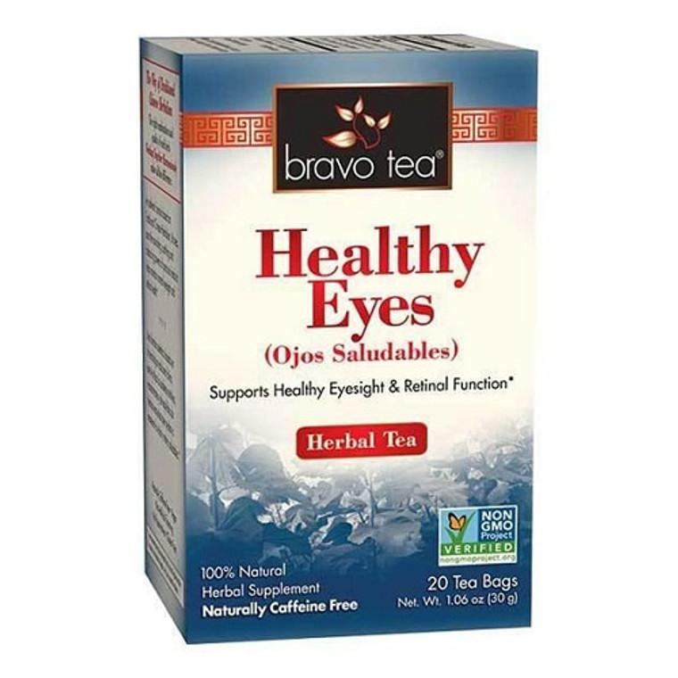 Bravo Tea Healthy Eyes Herbal Tea Bags, 20 Ea