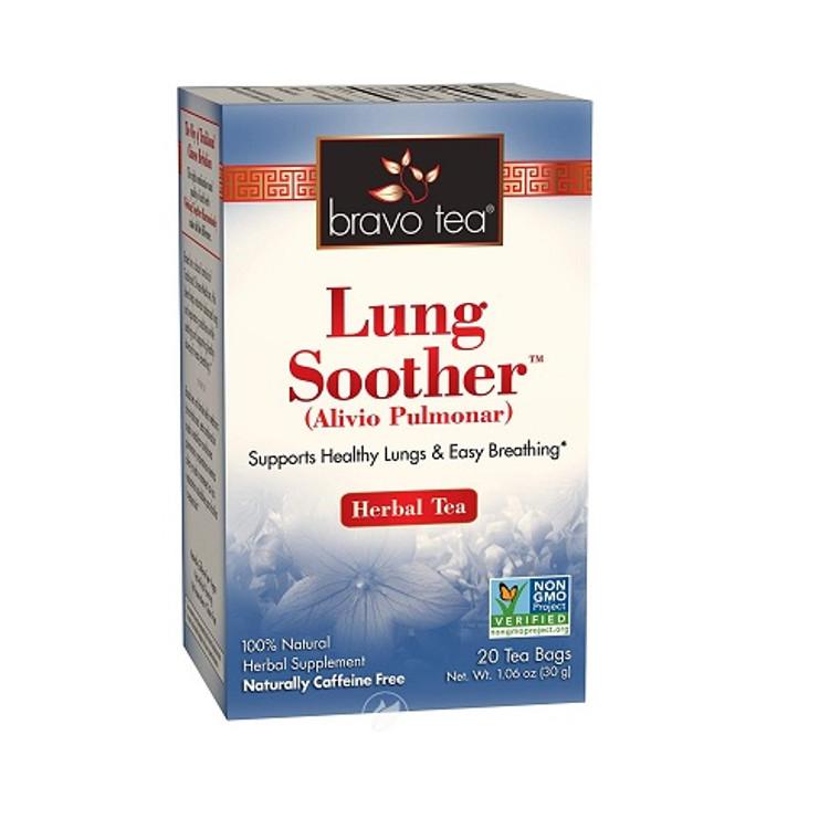 Bravo Tea Lung Soother Herbal Tea Bags, 20 Ea