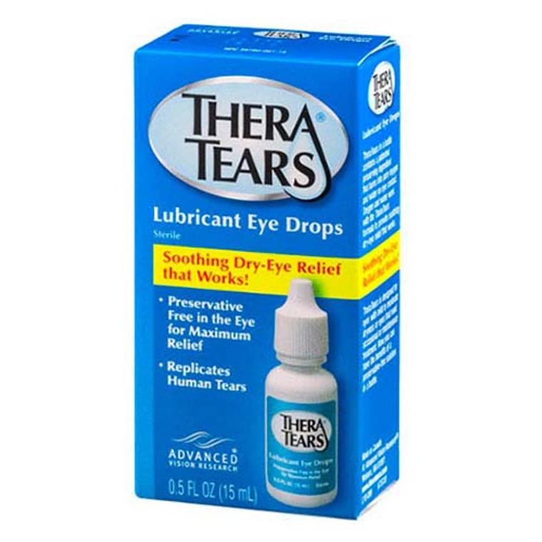 Thera Tears Lubricant Eye Drops - 0.5 Oz