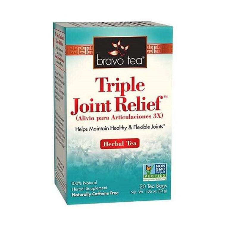 Bravo Tea Triple Joint Relief Herbal Tea Bags, 20 Ea