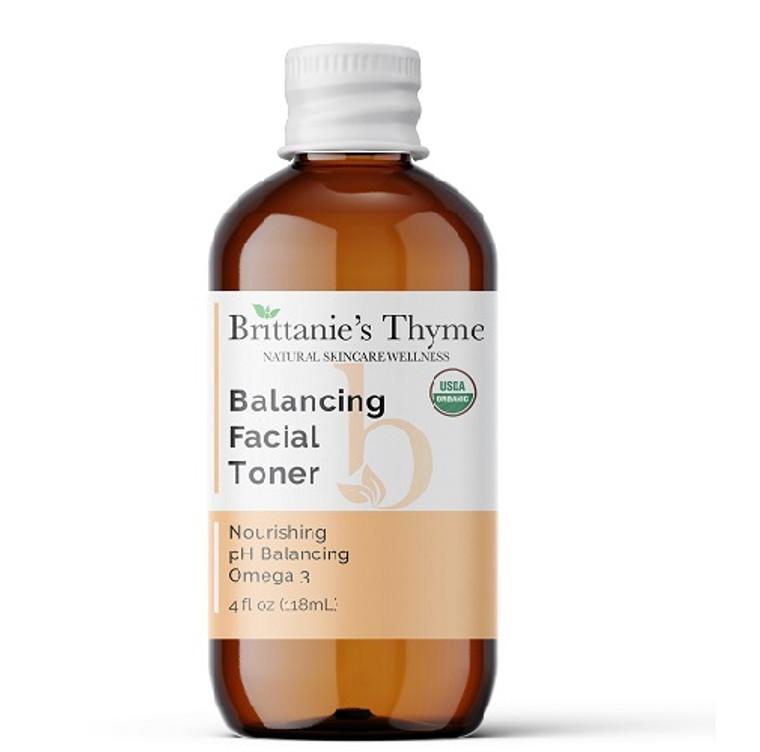 Brittanies Thyme Organic Balancing Toner, 4 Oz