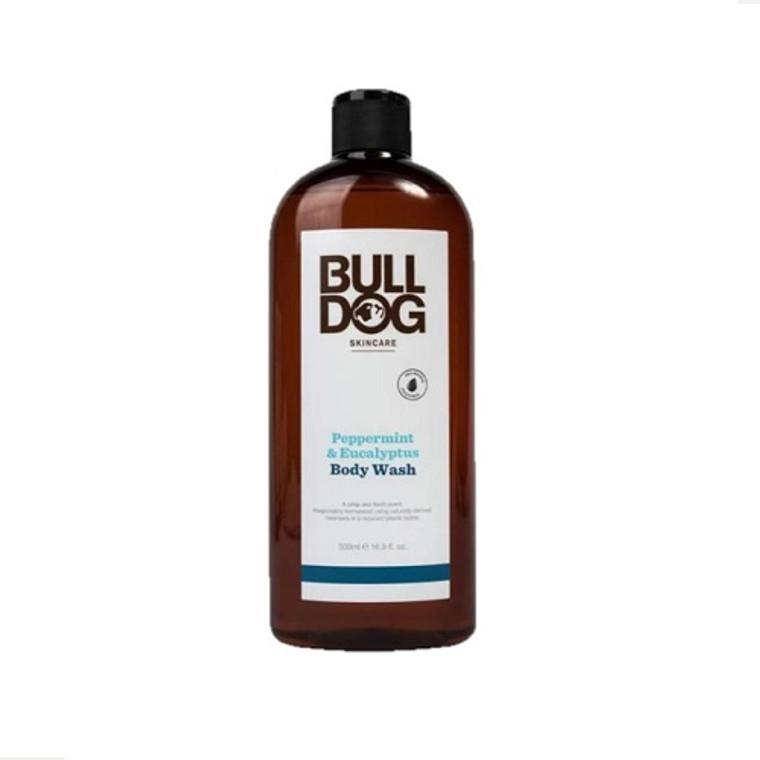 Bulldog Skincare for Men Peppermint and Eucalyptus Body Wash, 16.9 Oz