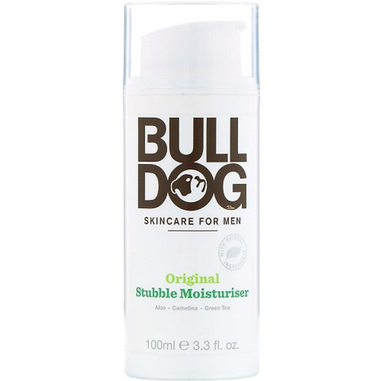 Bulldog Skincare for Men Original Stubble Moisturizer, 3.3 Oz