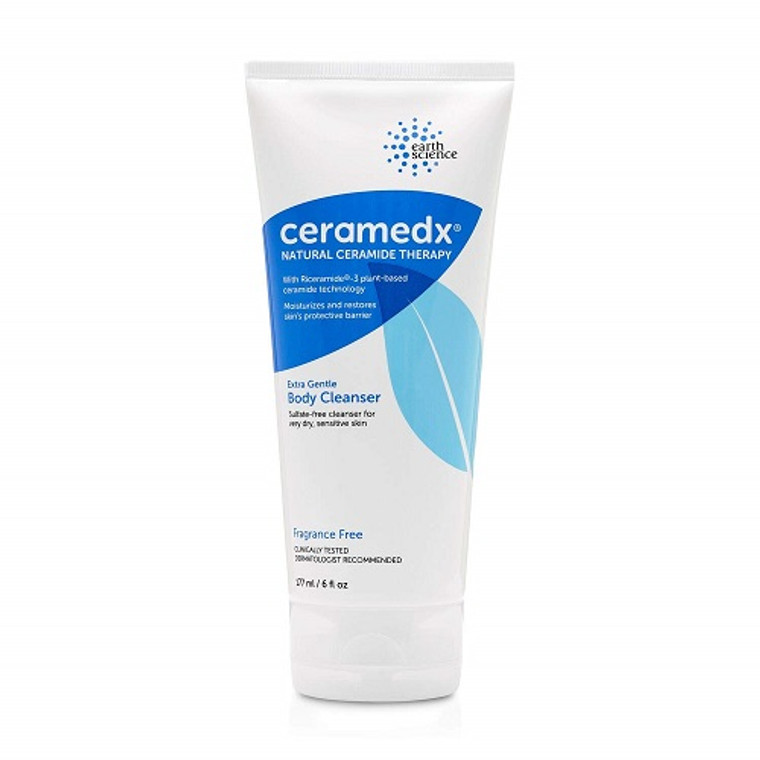 Ceramedx Natural Ceramide Therapy Extra Gentle Body Cleanser, 6 Oz