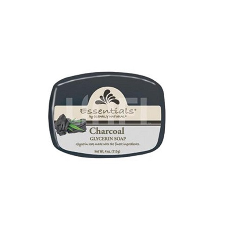 Clearly Natural Essentials Charcoal Glycerin Bar Soap, 4 Oz