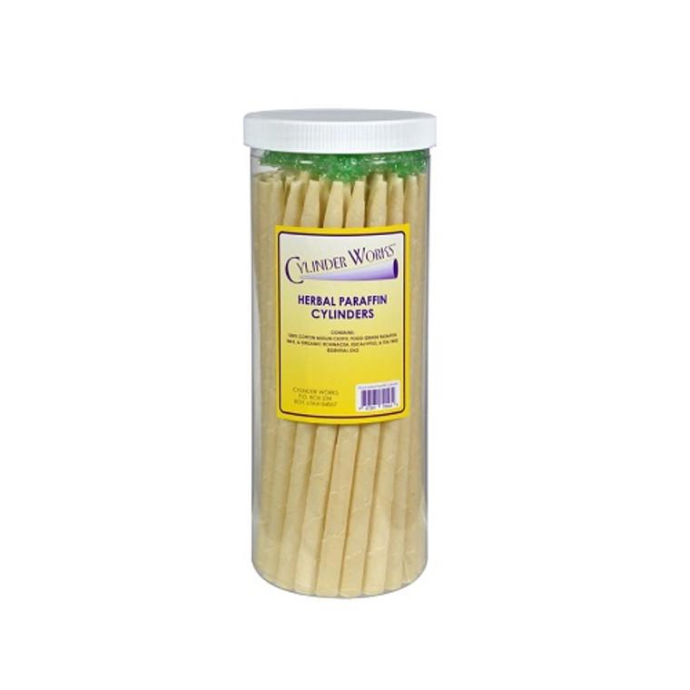 Cylinder Works Paraffin Herbal Ear Candles, 50 Ea