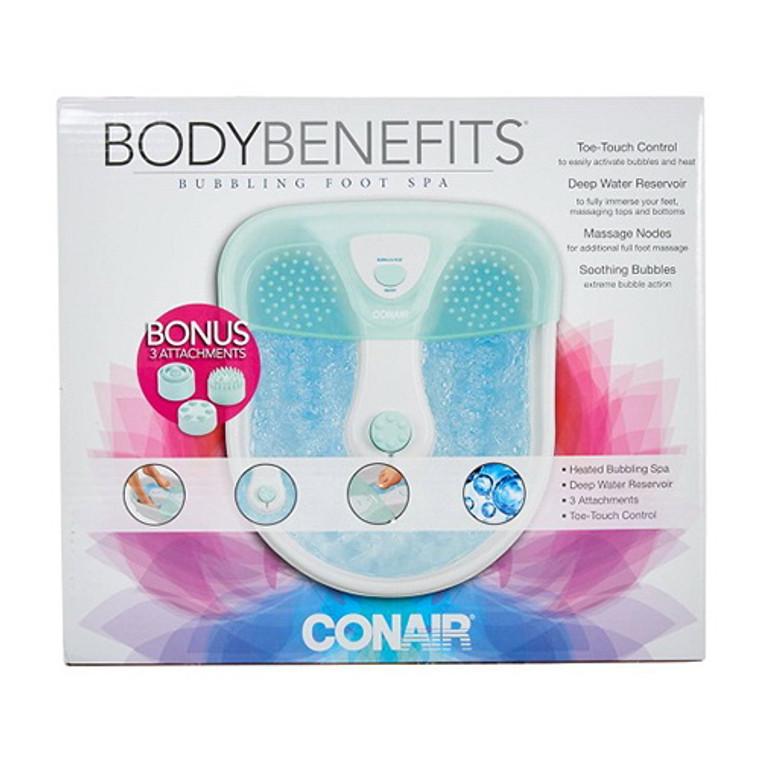 Conair Foot Pedicure Spa with Massaging Bubbles, 1 Ea