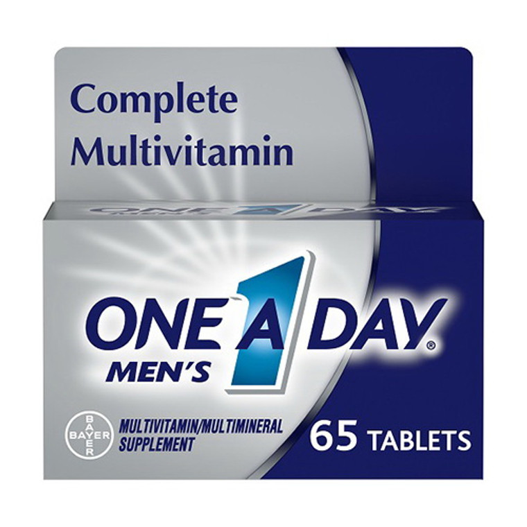 One A Day Mens 50+ Multivitamin Tablets, 65 Ea