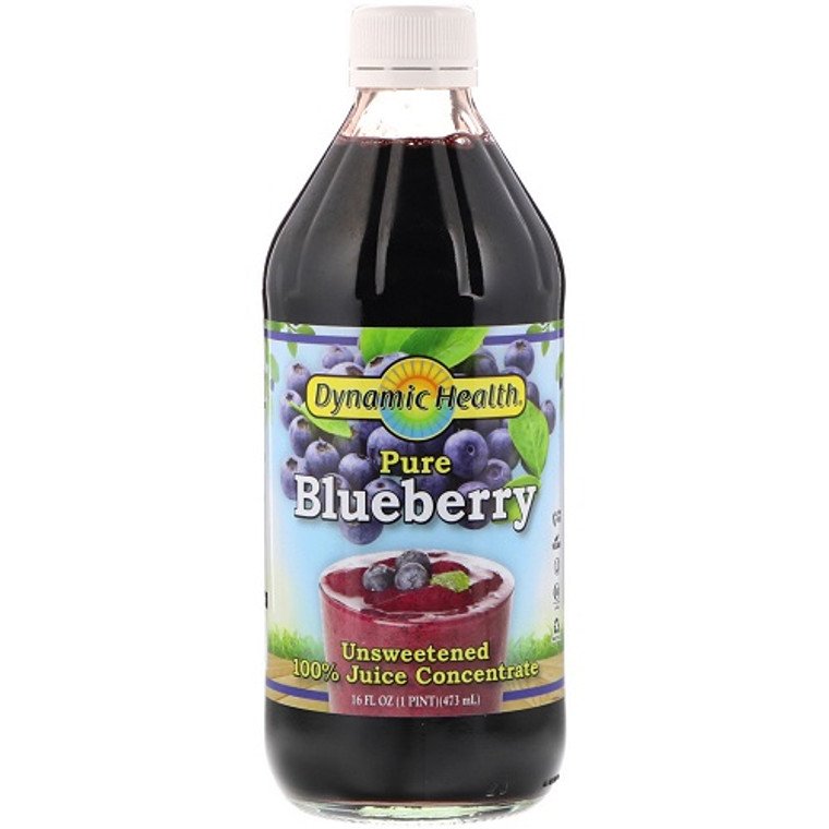 Dynamic Health Blueberry Concentrate Juice, 16 Oz