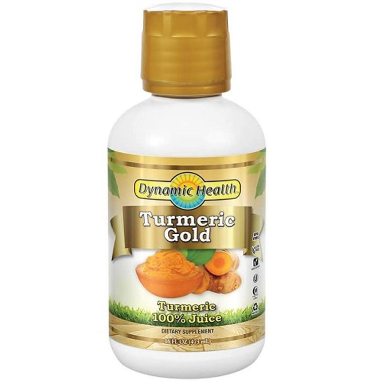 Dynamic Health Turmeric Gold Juice, 16 Oz