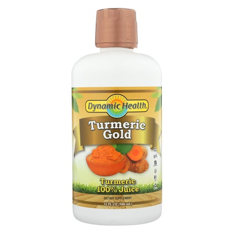 Dynamic Health Juice Turmeric Gold, 32 Oz