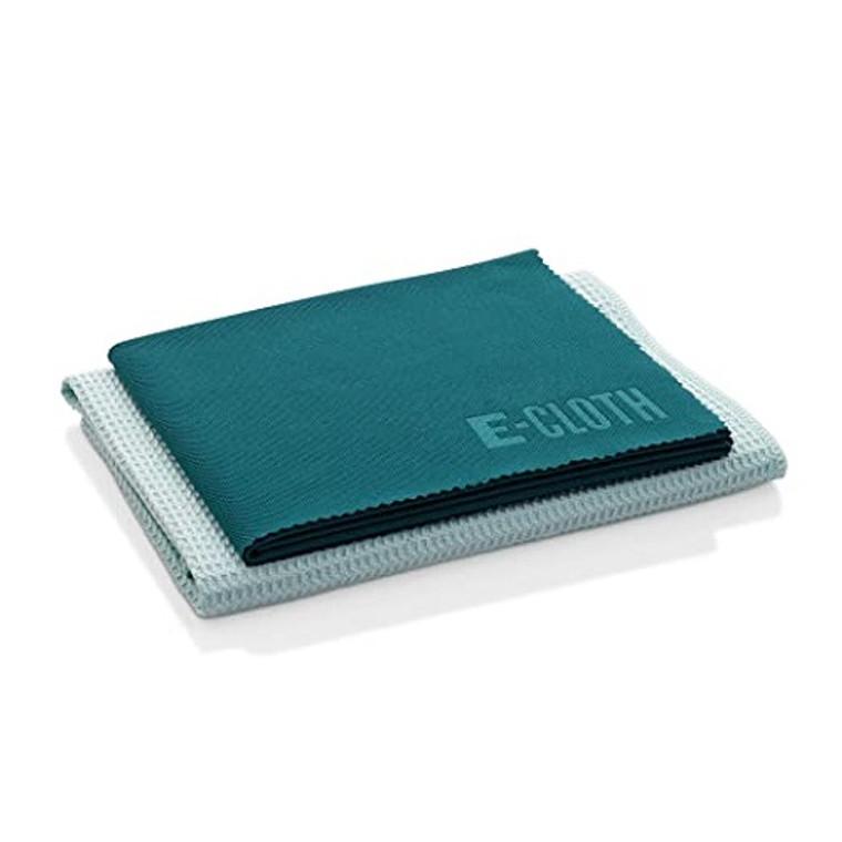 E-Cloth Window Cleaning Microfiber Cloth Set, 2 Ea