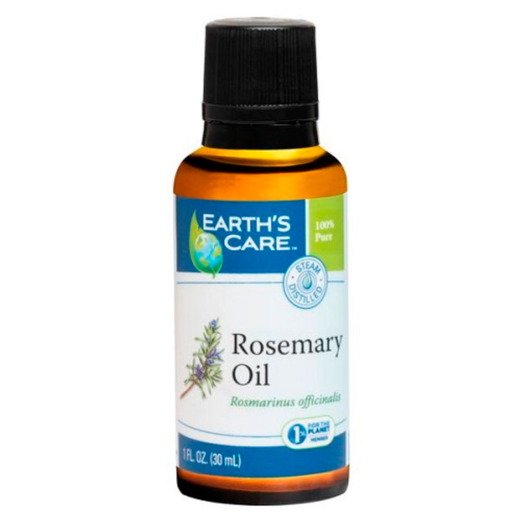 Earths Care Pure and Natural Rosemary Essential Oil, 1 Oz