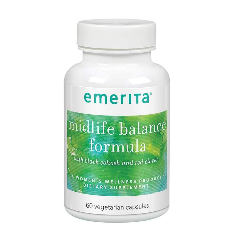 Emerita Midlife Balance Formula Vegetarian Capsules, 60 Ea