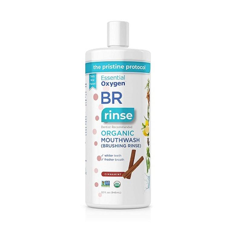 Essential Oxygen Organic Cinnamon Liquid Mouthwash, 32 Oz