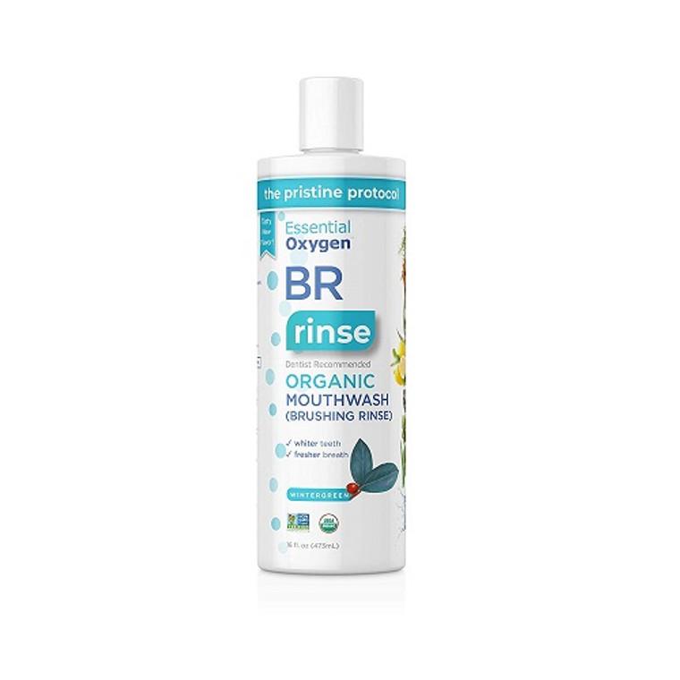 Essential Oxygen Organic Mouthwash Liquid Wintergreen, 3 Oz