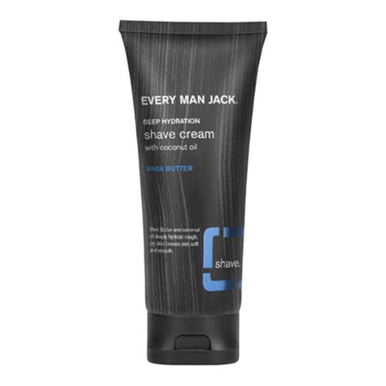 Every Man Jack Shea Butter Shave Gel, 7 Oz
