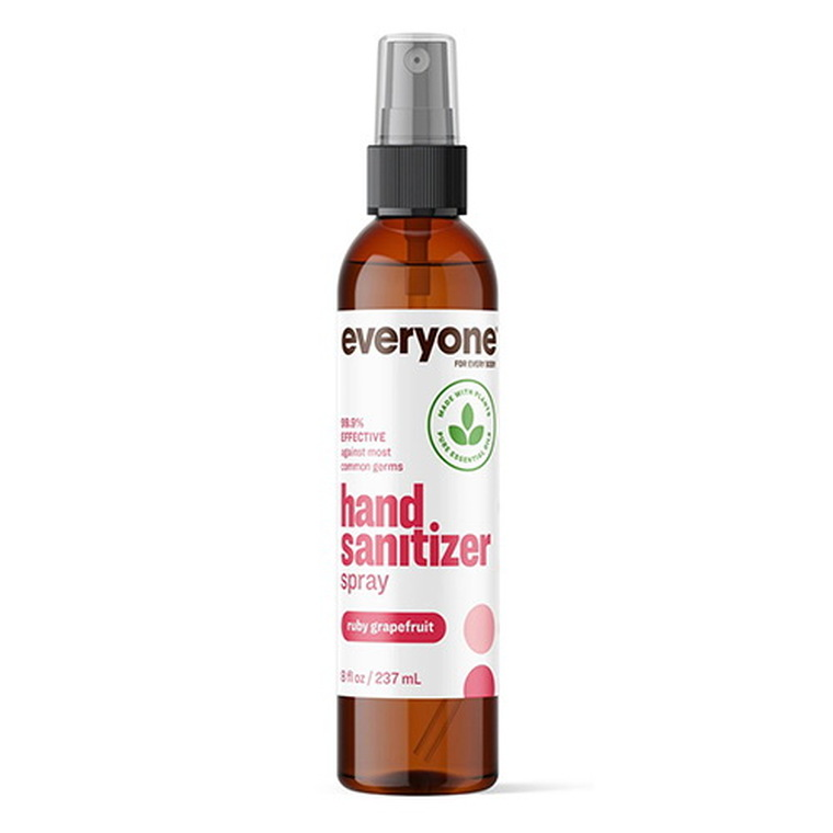 Everyone Hand Sanitizer Ruby Grapefruit Spray, 8 Oz