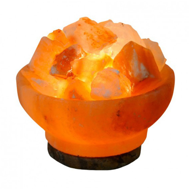 Evolution Salt Crystal Salt Lamp Fire Bowl 6 Inches, 1 Ea