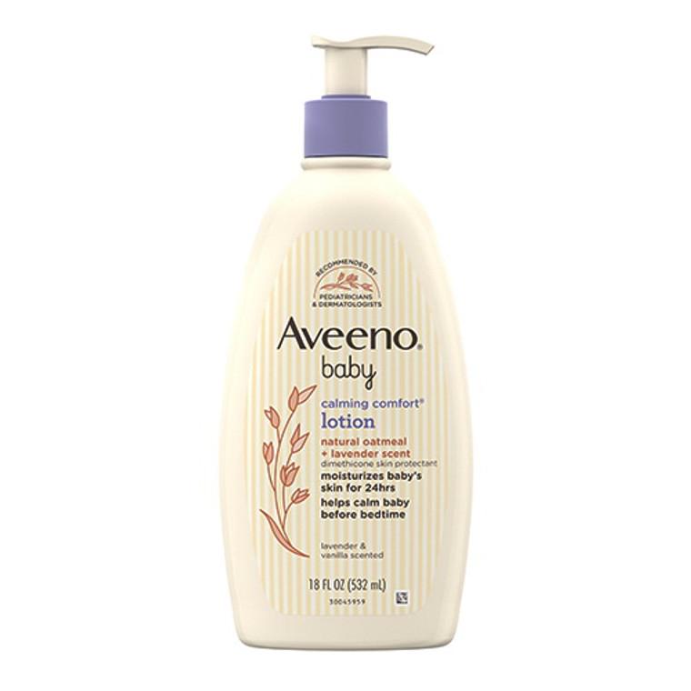 Aveeno Baby Calming Comfort Moisturizing Lotion, Lavender & Vanilla, 18 Oz