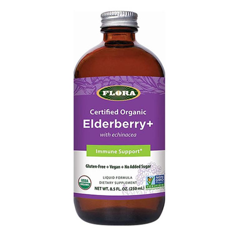 Flora Elderberry Plus Immune Support, 8.5 Oz