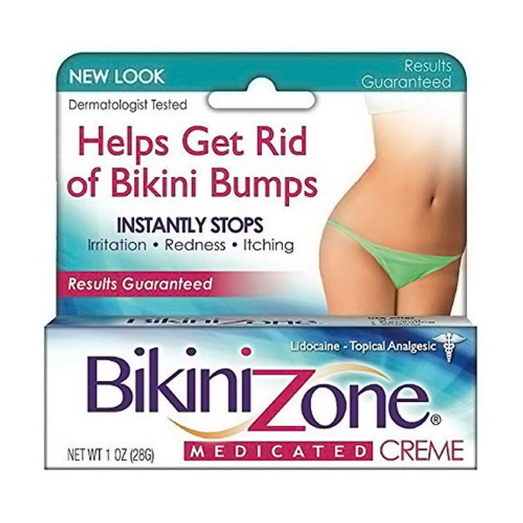 Bikini Zone Medicated Creme for Bikini Area, 12 Oz