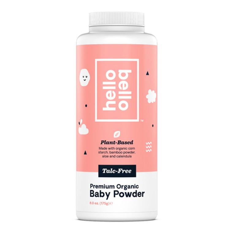 Hello Bello Premium Organic Talc Free Baby Powder, 6 Oz