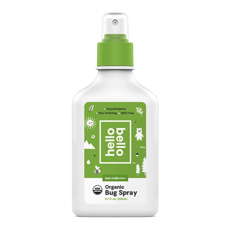 Hello Bello Safe and Effective Organic Bug Spray, 6.7 Oz