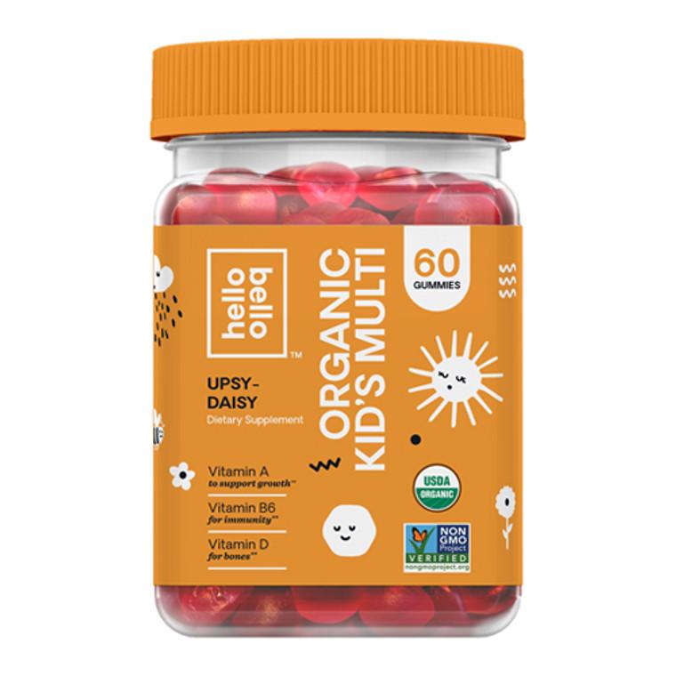 Hello Bello Organic Kids Multivitamin Gummy, 60 Ea