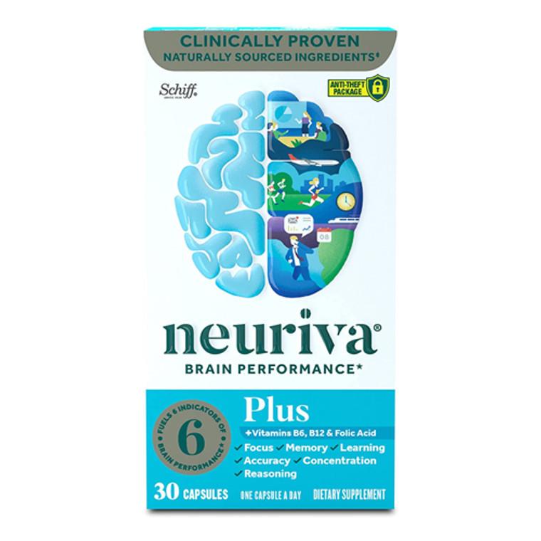 Schiff Neuriva Brain Performance Capsules, 30 Ea