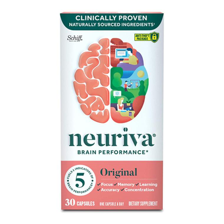 Schiff Neuriva Original Brain Performance Capsules, 30 Ea