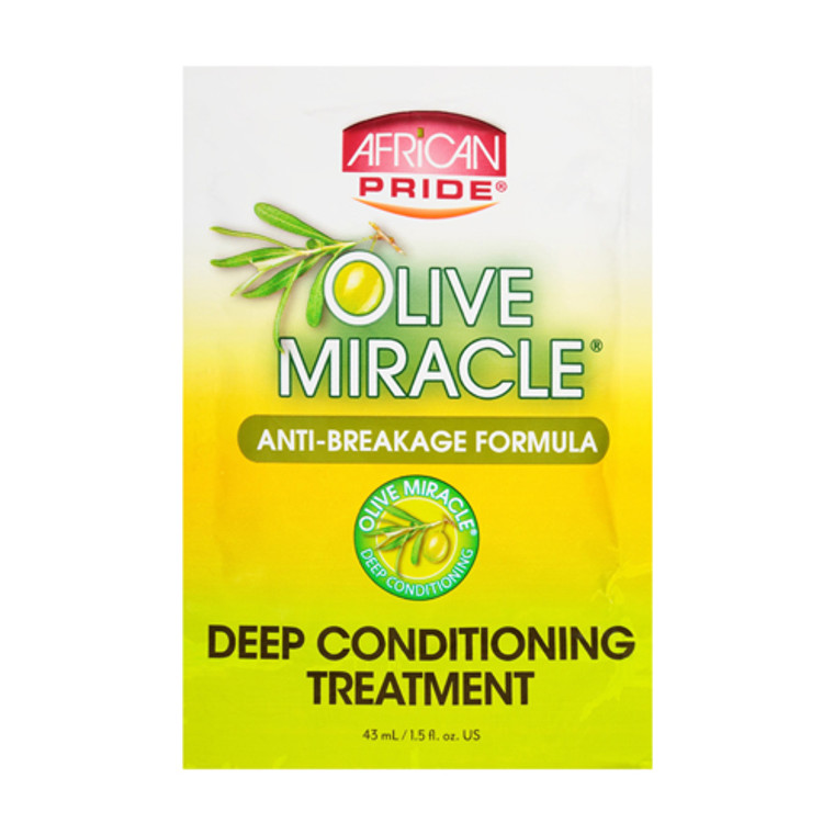 African Pride Olive Miracle Deep Conditioning Treatment, 1.5 Oz