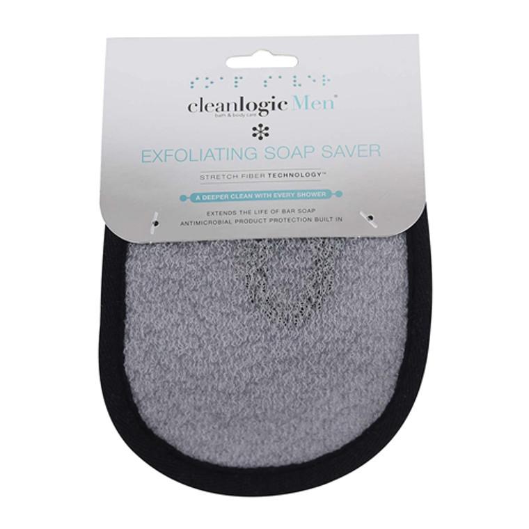 Cleanlogic Men's Exfoliating Soap Saver, 1 Ea