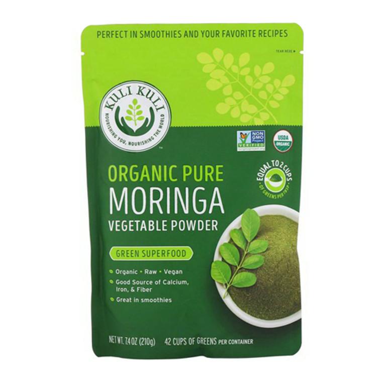 Kuli Kuli Organic Vegan Moringa Green Smoothie Mix Green Superfood, 7.6 Oz