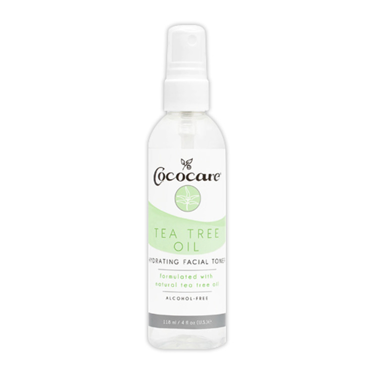 Cococare Tea Tree Oil Hydrating Facial Toner, 4 Oz