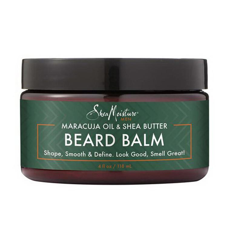 Shea moisture Beard Balm, Maracuja Oil & Shea Butter, 4 Oz