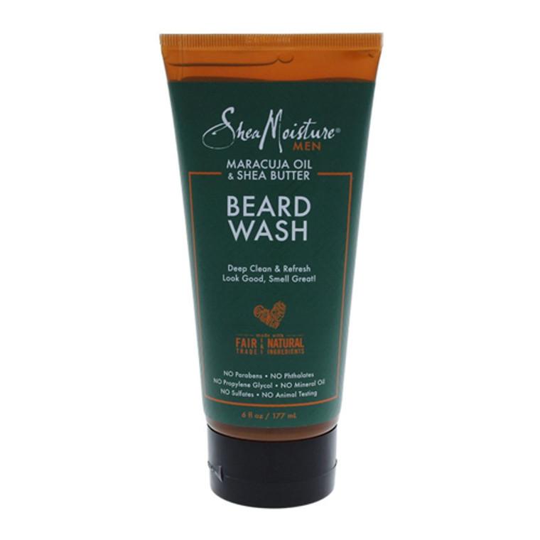 Shea Moisture Men Maracuja Oil and Shea Butter Beard Wash, 6 Oz