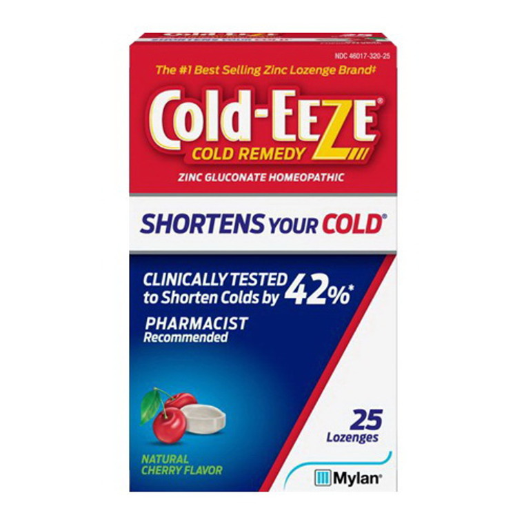 Cold-Eeze Cold Remedy Cherry Lozenges, 25 Ea